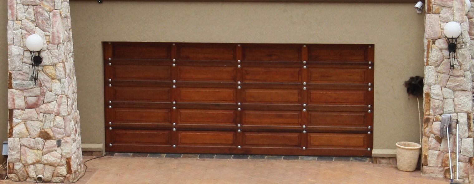 Double 20 Panel Gothic Door