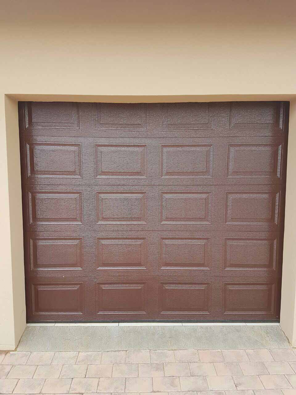 Single Brown 20 Panel Chromadek Door