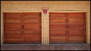 Single 10 Panel Wooden Door