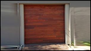 Single Wooden Fingerjoint Slatted Door