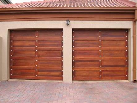 Single Flat Panel Gothic Door