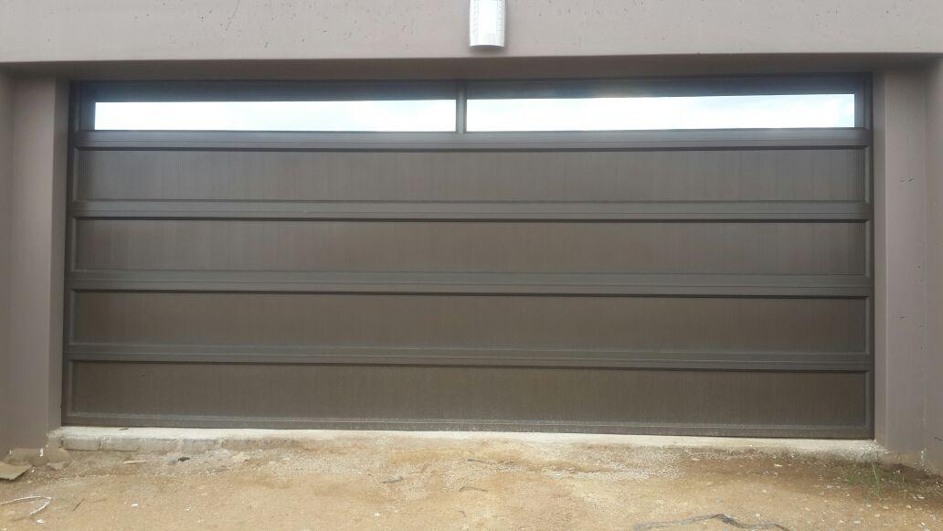 Double Glass 2 Panel Aluminium Insert Door