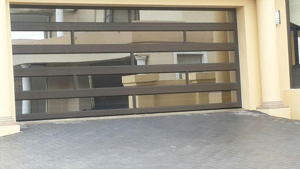 Double Glass Aluminium Mixed Insert Door